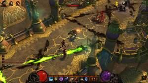 Diablo 3 - Komplettlösung : Auf dem Weg zum kaiserlichen Palast.