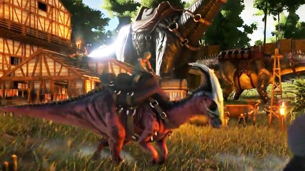 Ark: Survival Evolved - Trailer zur offiziellen Mod »Primitive+«
