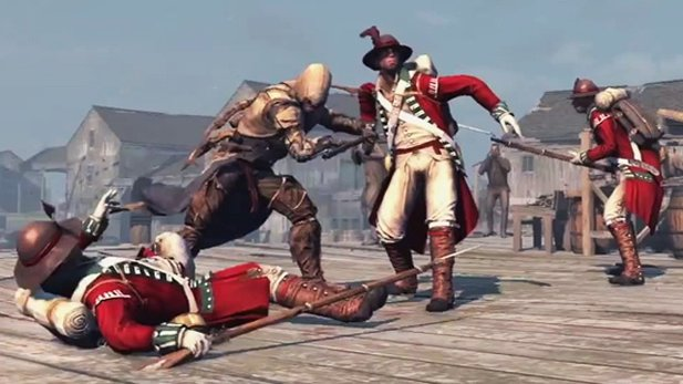 Assassin's Creed 3 - Gameplay-Video zur Engine