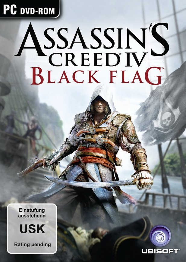 Ein neuer Held ziert das Cover von Assassin's Creed 4: Black Flag.