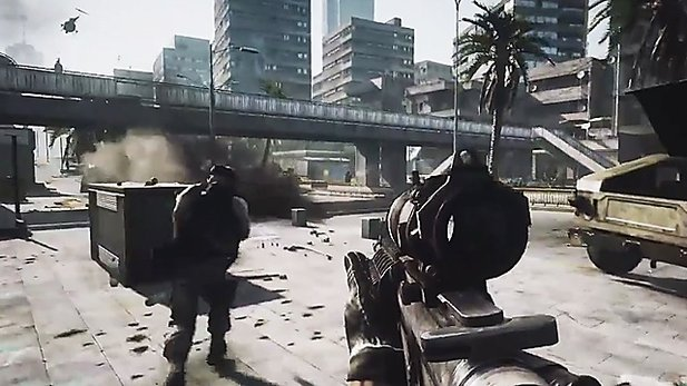 Gameplay-Trailer #3 zu Battlefield 3