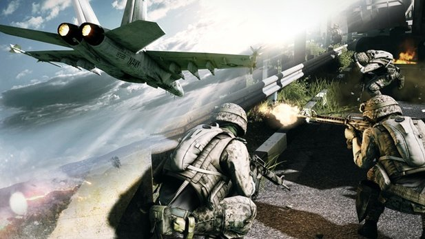 Battlefield-3-Trailer zum Level Caspian Border