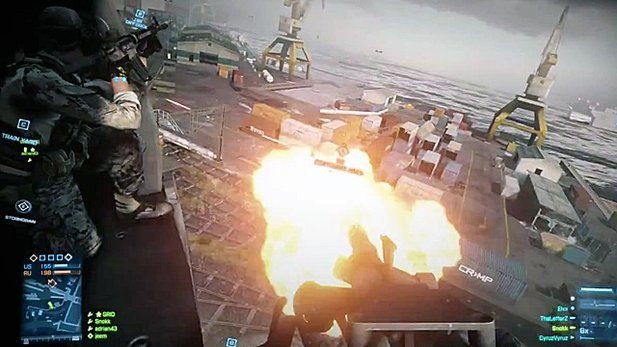 Multiplayer-Gamplay-Video von Battlefield 3
