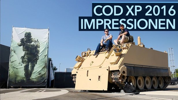 Call of Duty XP 2016 - Video: Impressionen vom CoD-Fanfest