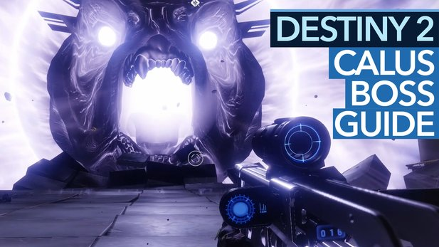 Destiny 2 Leviathan-Raid - Guide-Video: So besiegt man Calus