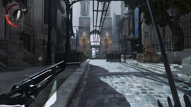 dishonored 2 systemvoraussetzungen kopierschutz performance und grafik gamestar. Black Bedroom Furniture Sets. Home Design Ideas