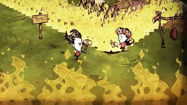Don't Starve Together - Trailer zum Early-Access-Start