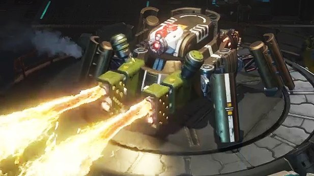 Dropzone - Feature-Trailer: Mech-MOBA kommt auf Steam