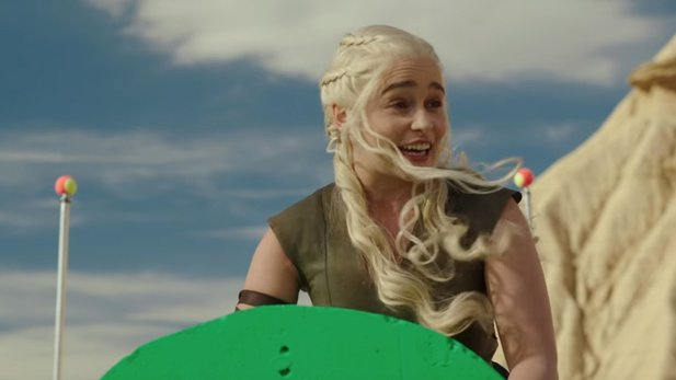 Game of Thrones - Staffel-6-Outtakes mit Peter Dinklage und Emilia Clarke