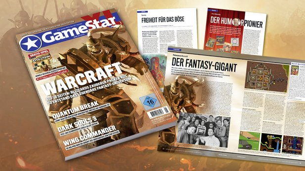 Die GameStar 05/16. Ab dem 20. April im Handel.