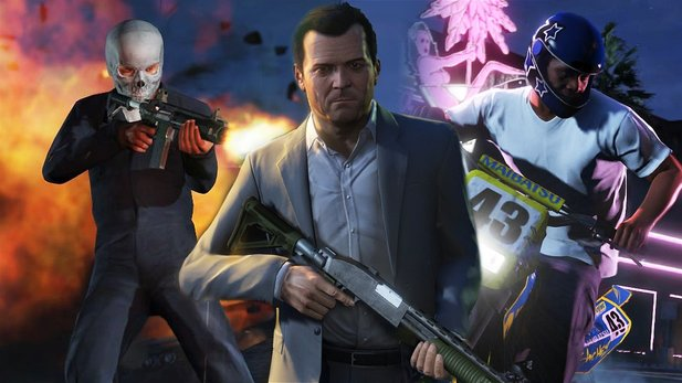 Grand Theft Auto 5 - Preview-Video zum Open-World-Megahit