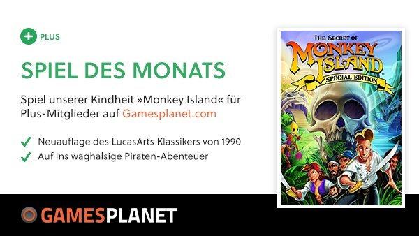 Gratis-Spiel im Juni – The Secret of Monkey Island: Special Edition