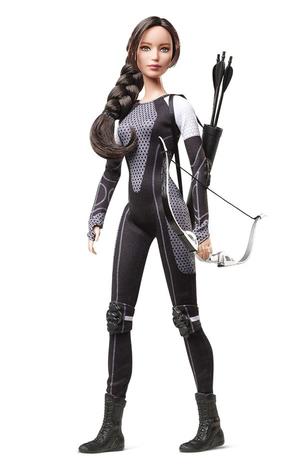 Katniss aus The Hunger Games als Barbie-Puppe