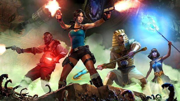 Lara Croft and the Temple of Osiris - Ankündigungs-Trailer zum Koop-Action-Spiel