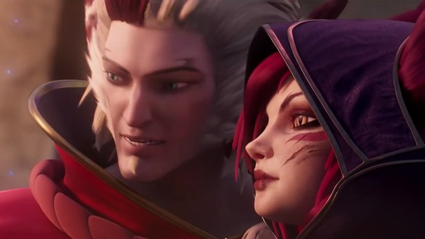 League of Legends - Cinematic-Trailer stellt Rakan und Xayah vor