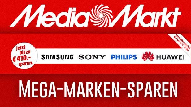 Savings of big brands in MediaMarkt.de