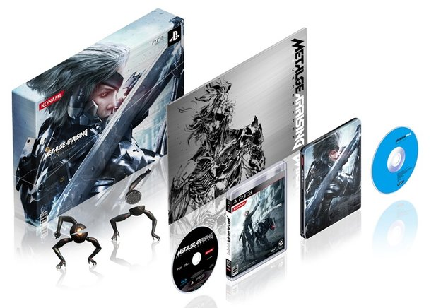 Die »Premium Package«-Edition von Metal Gear Rising: Revengeance.