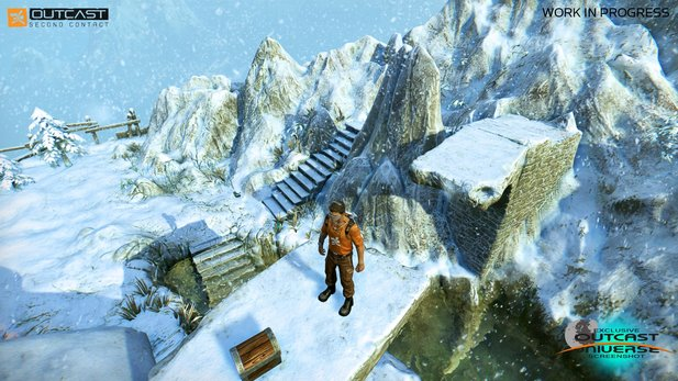 Outcast: Second Contact neuer Screenshot #2