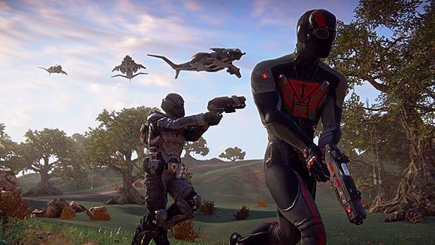Planetside 2 - Test-Video