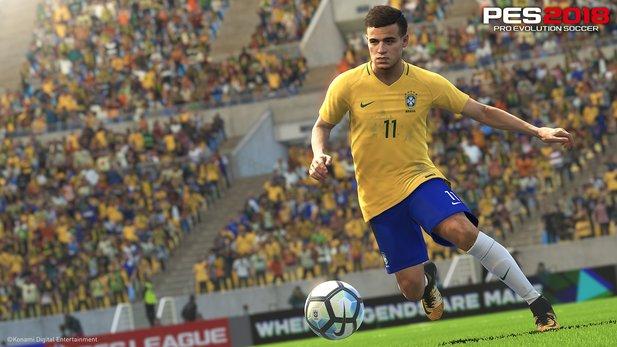 PES 2018: Brasilianischer Fußball im neuen World Tour-Trailer