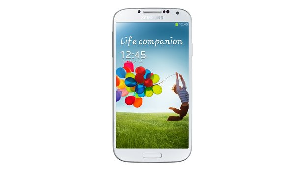 Samsung Galaxy S4 in weiß