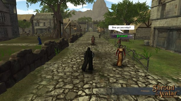 Shroud of the Avatar: Forsaken Virtues wird es auch in Deutsch geben.