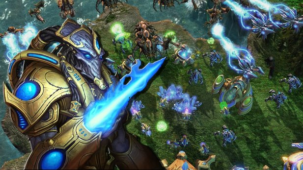 Community-Event zu Starcraft 2 - Pro-Gamer vs. Community