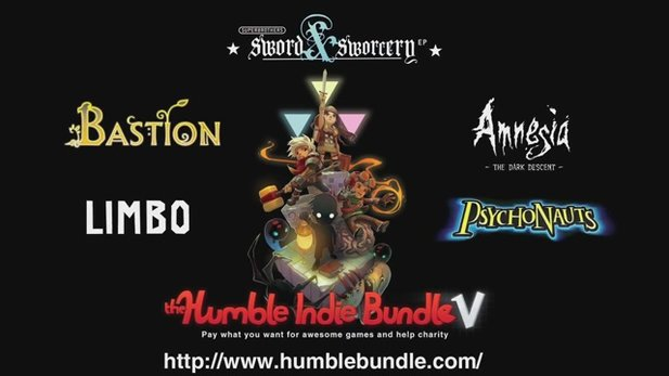 Das Humble-Indie-Bundle Nummer 5.