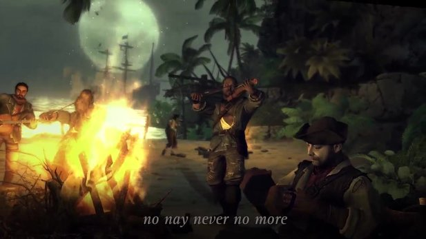 Vendetta: Curse of Raven's Cry - In-Game-Video zum Piratensong »Sail with the Devil«