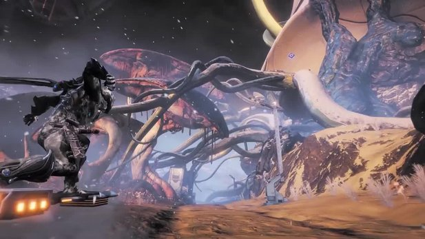 Warframe: Fortuna - Release Trailer agrees with Giant Update with Open World Scenes