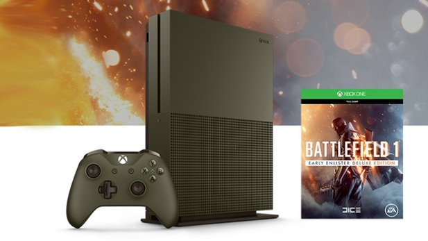 Xbox One S Battlefield 1 Special Edition Bundle (1TB)