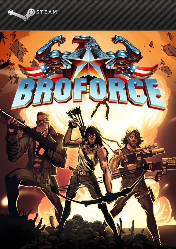 Cover zu Broforce