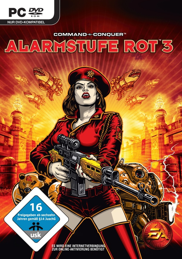 Cover zu Command & Conquer: Alarmstufe Rot 3