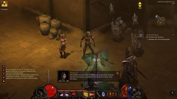 Diablo 3 - Komplettlösung : Maghdas Hinterhalt beim Kommandoposten