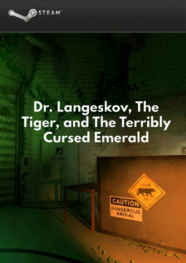 Cover zu Dr. Langeskov, The Tiger, and The Terribly Cursed Emerald: A Whirlwind Heist