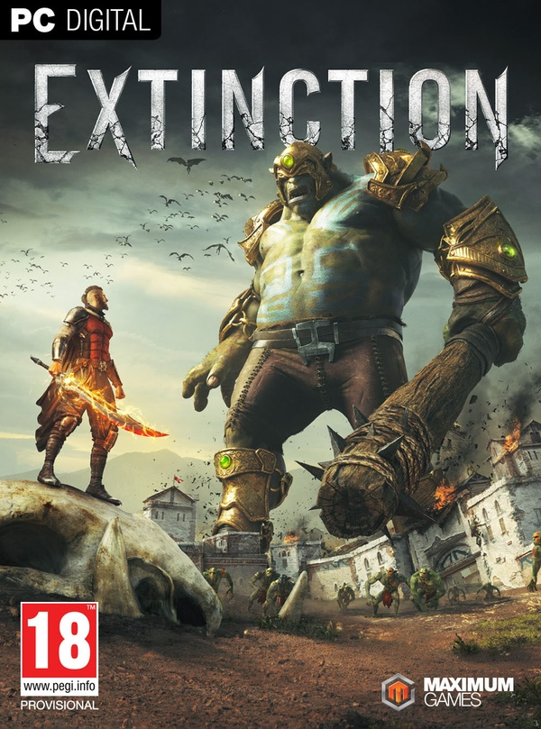 Cover zu Extinction