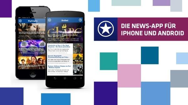 GameStar: Die News-App für's iPhone und Android