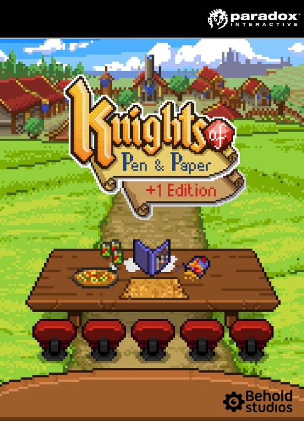 Cover zu Knights of Pen and Paper