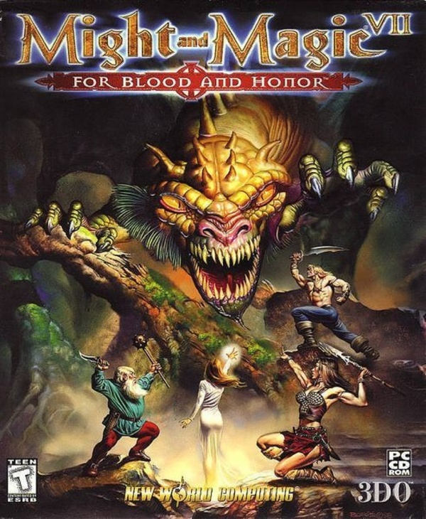 Cover zu Might and Magic 7: For Blood and Honour