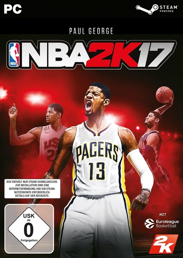 Cover zu NBA 2K17