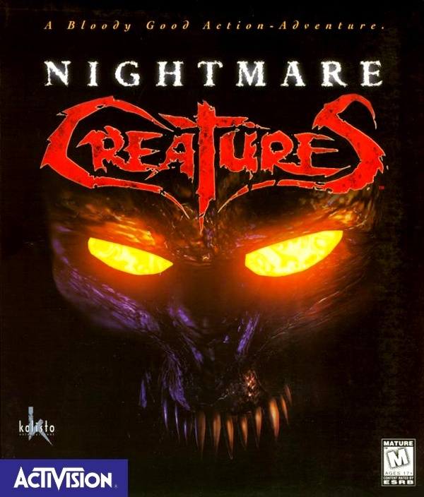 Cover zu Nightmare Creatures