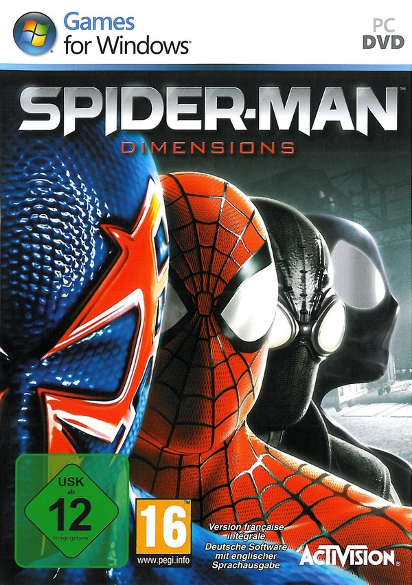 Cover zu Spider-Man: Dimensions
