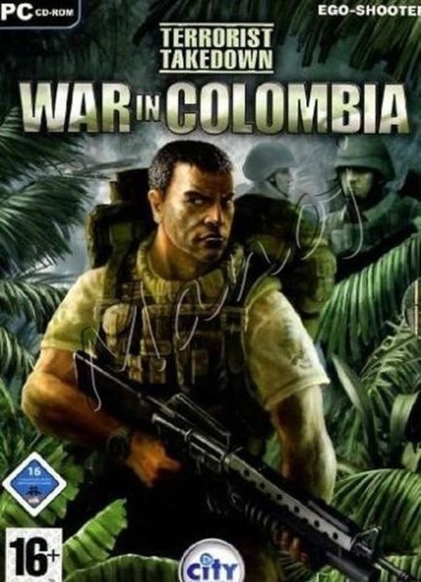 Cover zu Terrorist Takedown: War in Colombia