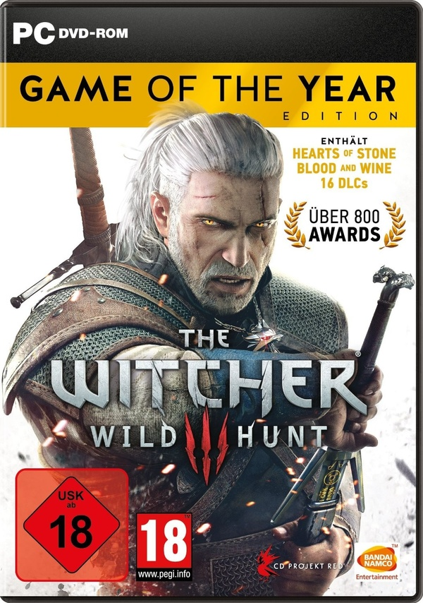 Cover zu The Witcher 3: Wild Hunt - Game of the Year Edition