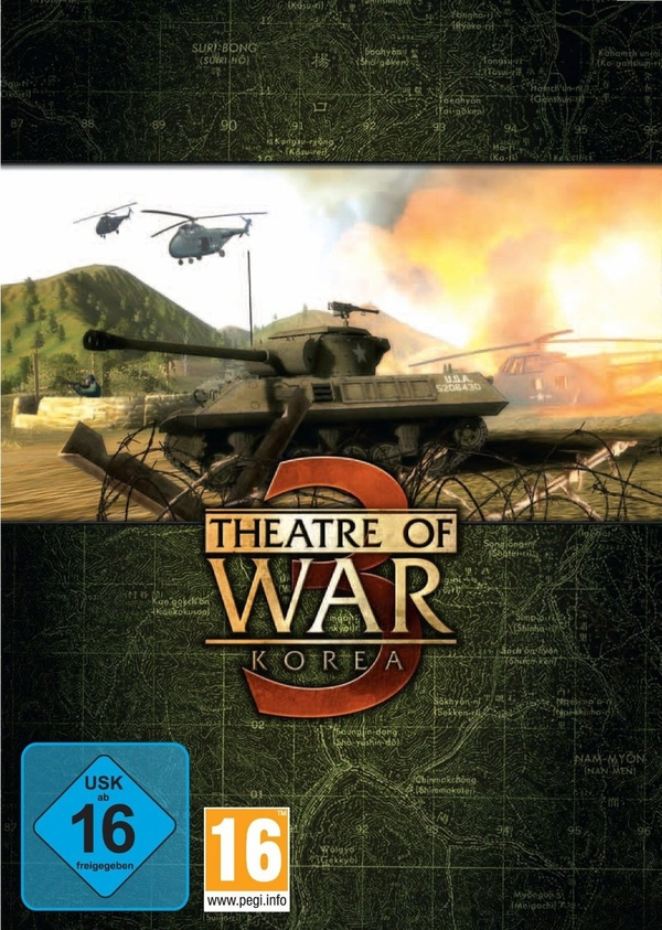 Cover zu Theatre of War 3: Korea