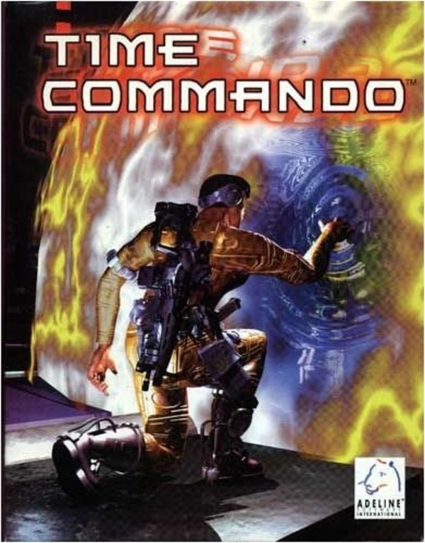 Cover zu Time Commando