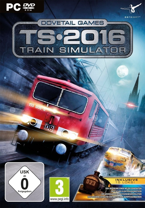 Cover zu Train Simulator 2016