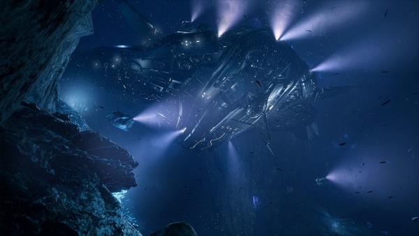 Screenshot zu Aquanox: Deep Descent - Screenshots