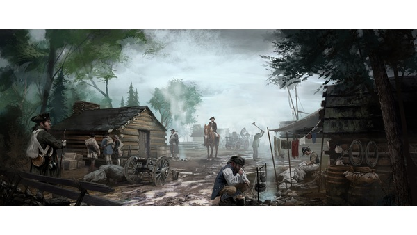 Screenshot zu Assassin's Creed 3 - Artworks & Konzeptgrafiken