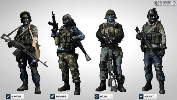 Screenshot zu Battlefield 3 - Artworks und Konzeptzeichnungen